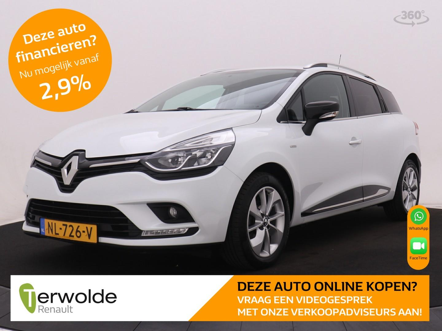 Renault Clio Estate 90pk tce limited airco i cruise control i navigatie