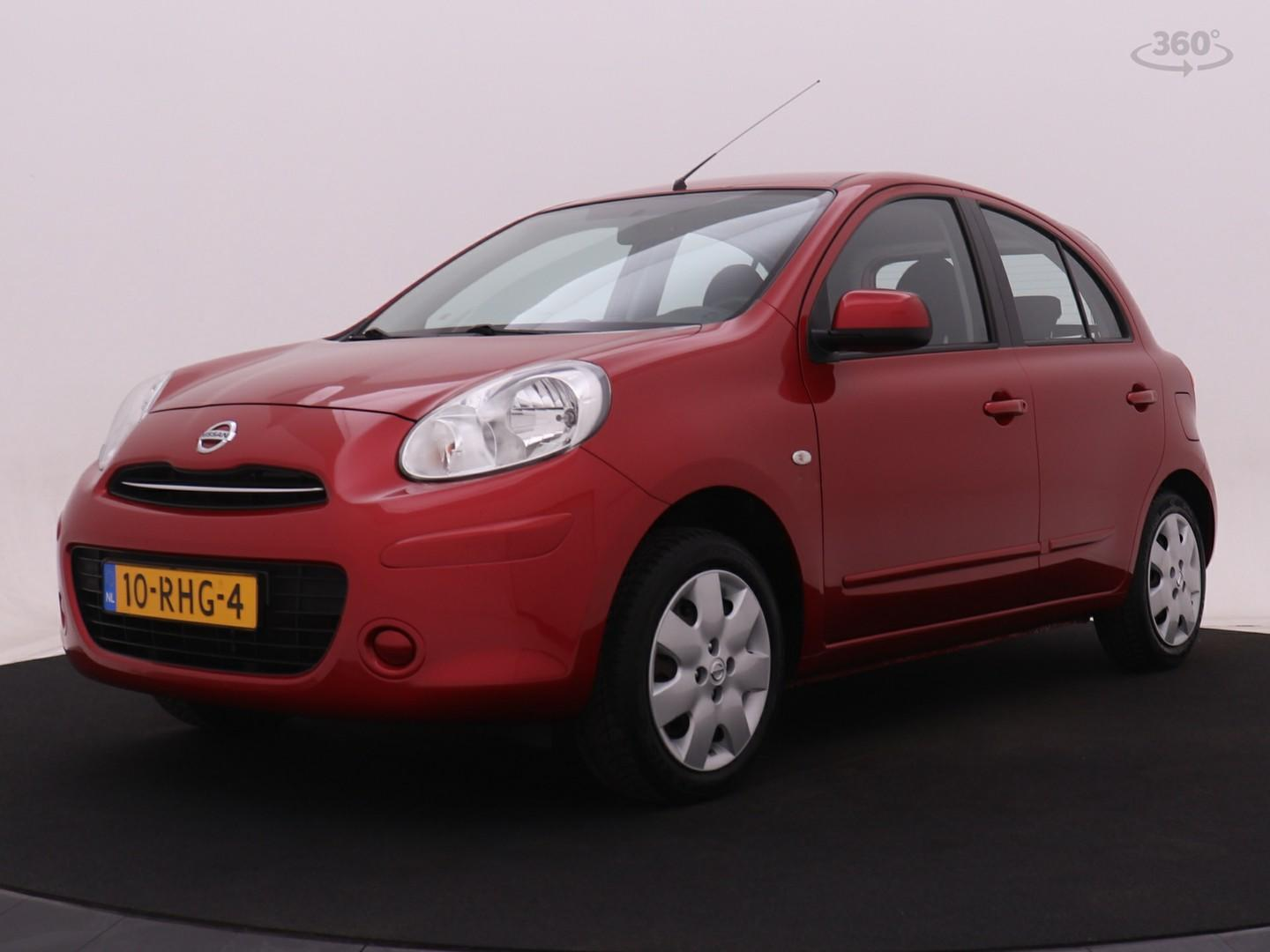 Nissan Micra 1.2 acenta 5drs climate control i cruise control i trekhaak (fietsendrager)