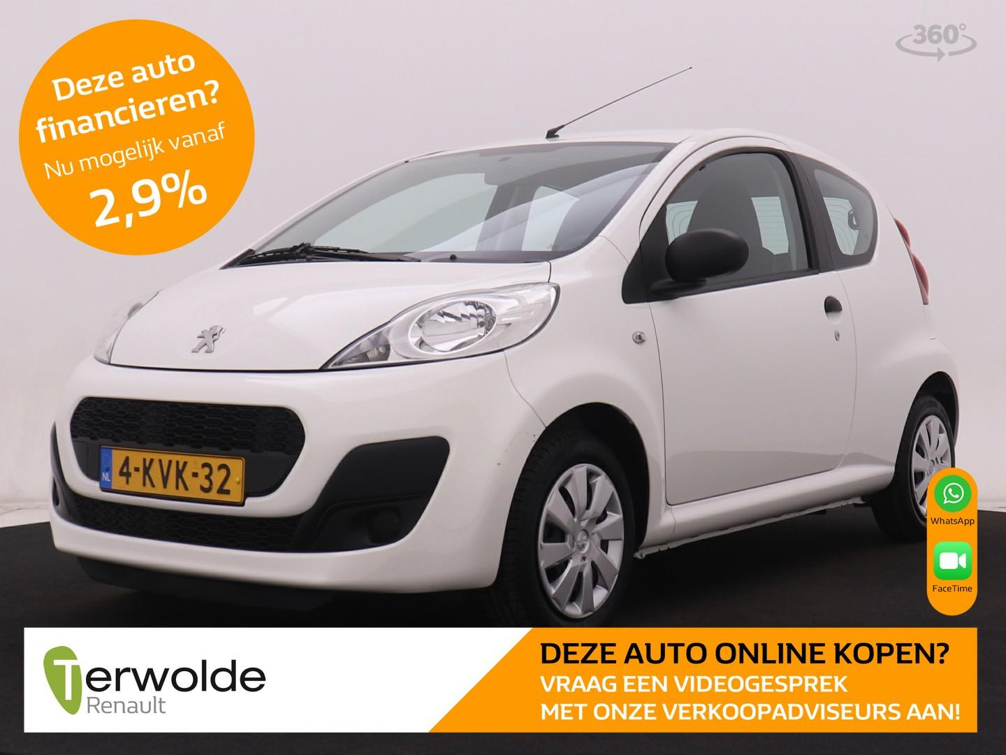 Peugeot 107 1.0 access accent airco i audio i goed onderhouden