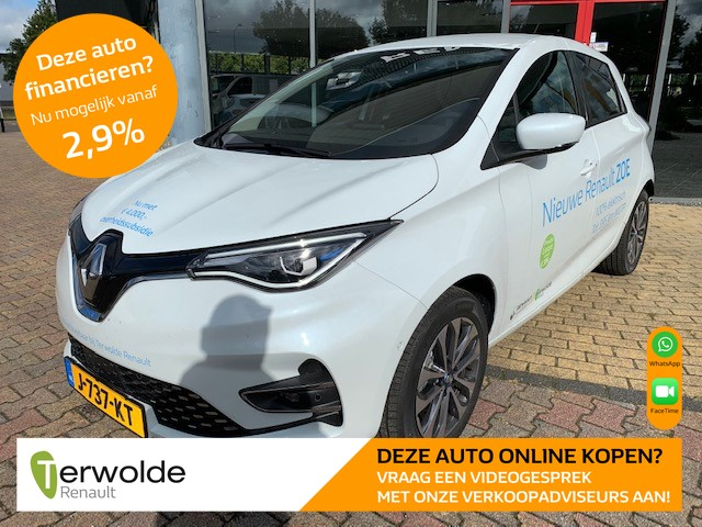 Renault Zoe R135 intens 50 accuhuur navigatie i climate control i parkeersensoren