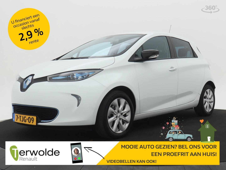 Renault Zoe Q210 zen quickcharge 22 kwh (ex accu) climate control i cruise control i navigatie