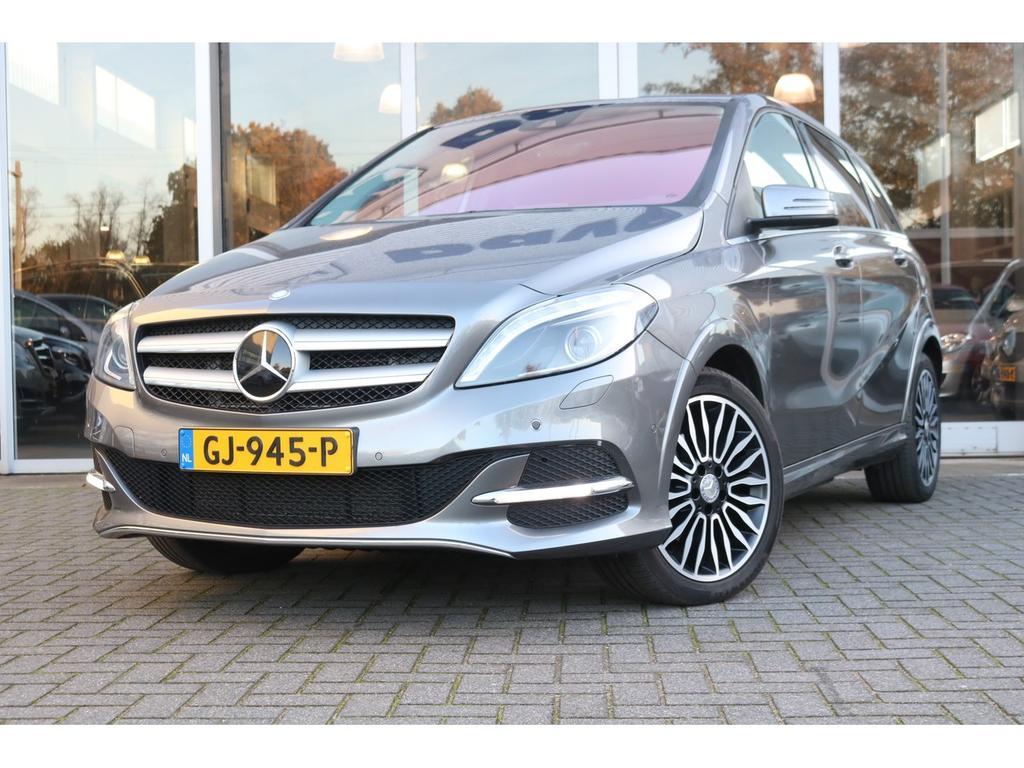 Mercedes-benz B-klasse Electric drive ambition