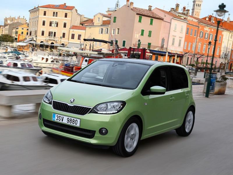 Škoda Citigo 1.0 greentech ambition