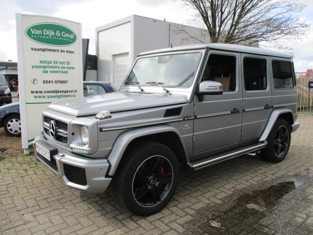 Mercedes-benz G-klasse G 63 amg aut nieuwstaat !
