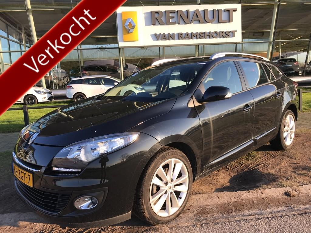 "Renault Mégane estate 1.5 dci 110 pk expression lmv 17""led dagrij verl climat"