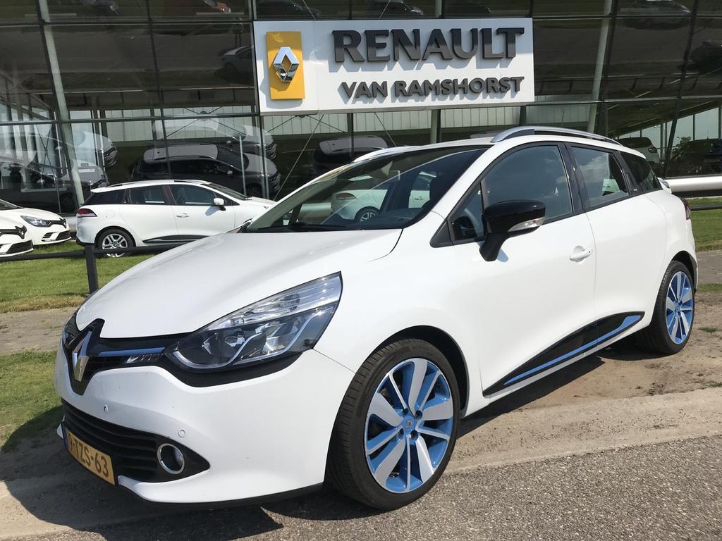 """Renault Clio Estate 1.5 dci 90pk eco dynamique 17""""lmv climat r- link pdc + cam"""