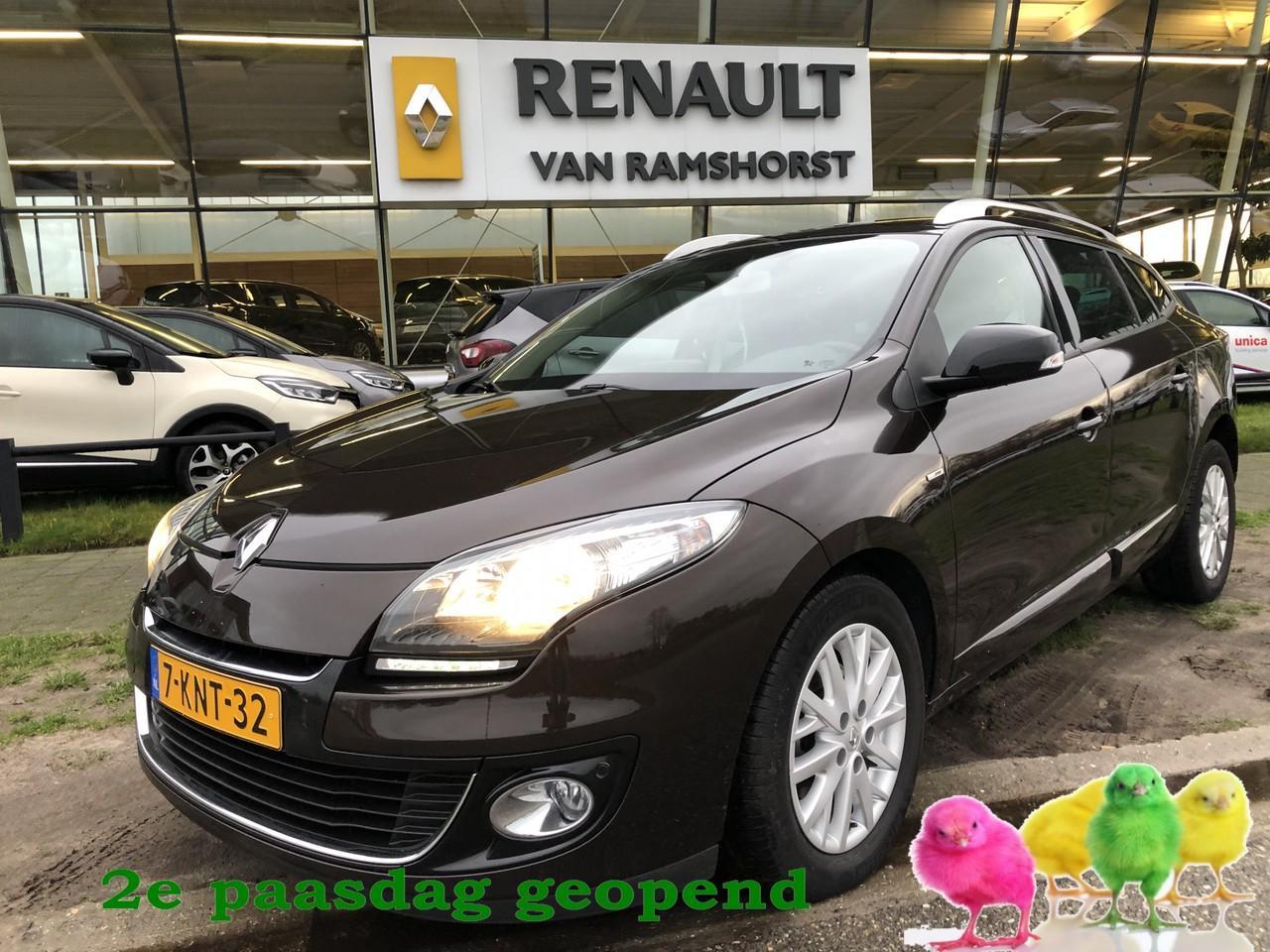 Renault Mégane Estate 1.5 dci 110 pk bose pan dak pdc v+a+cam 2e paasdag open 10.00 - 17.00 uur