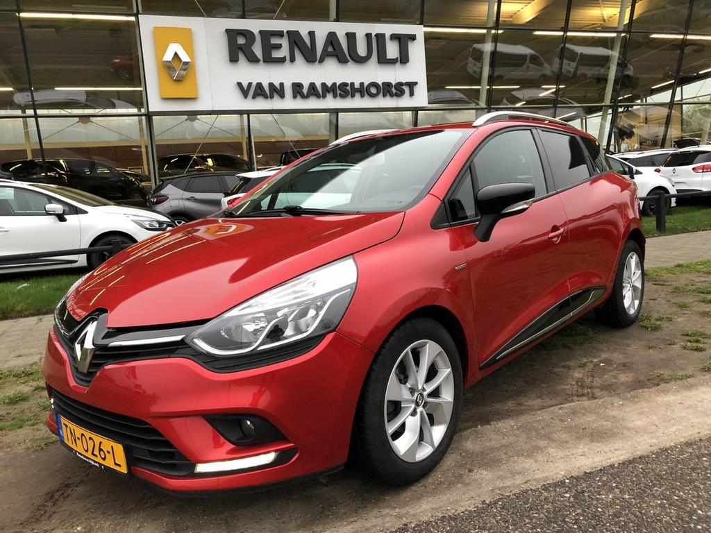 "Renault Clio Estate 1.2 tce 120pk limited automaat lmv 16"" medianav pdc"