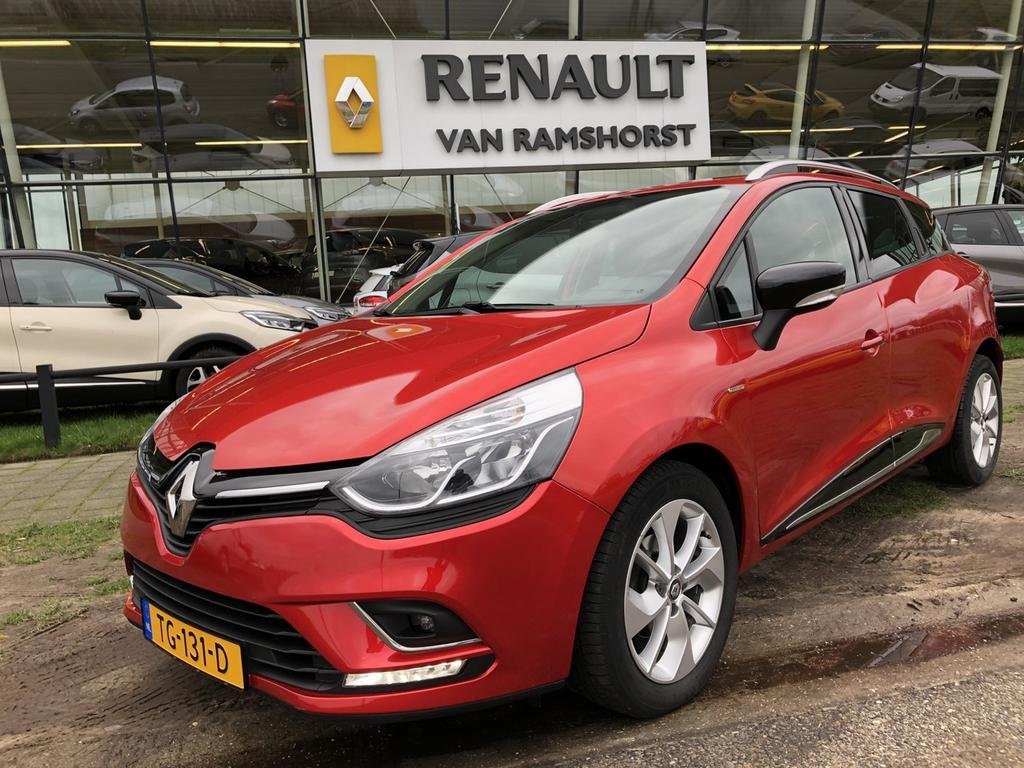 Renault Clio Estate ph ii 0.9 tce 90 pk limited airco medianav pdc