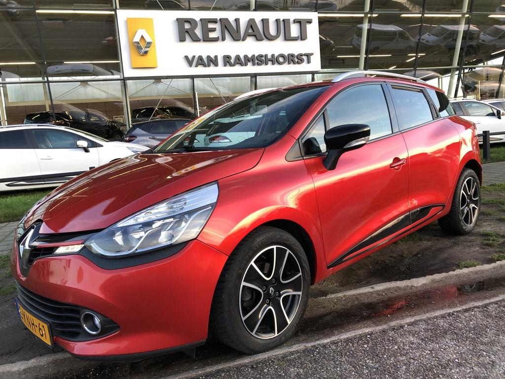 """Renault Clio Estate 1.5 dci 90pk eco expression pack look rouge airco medianav 16""""lmv"""