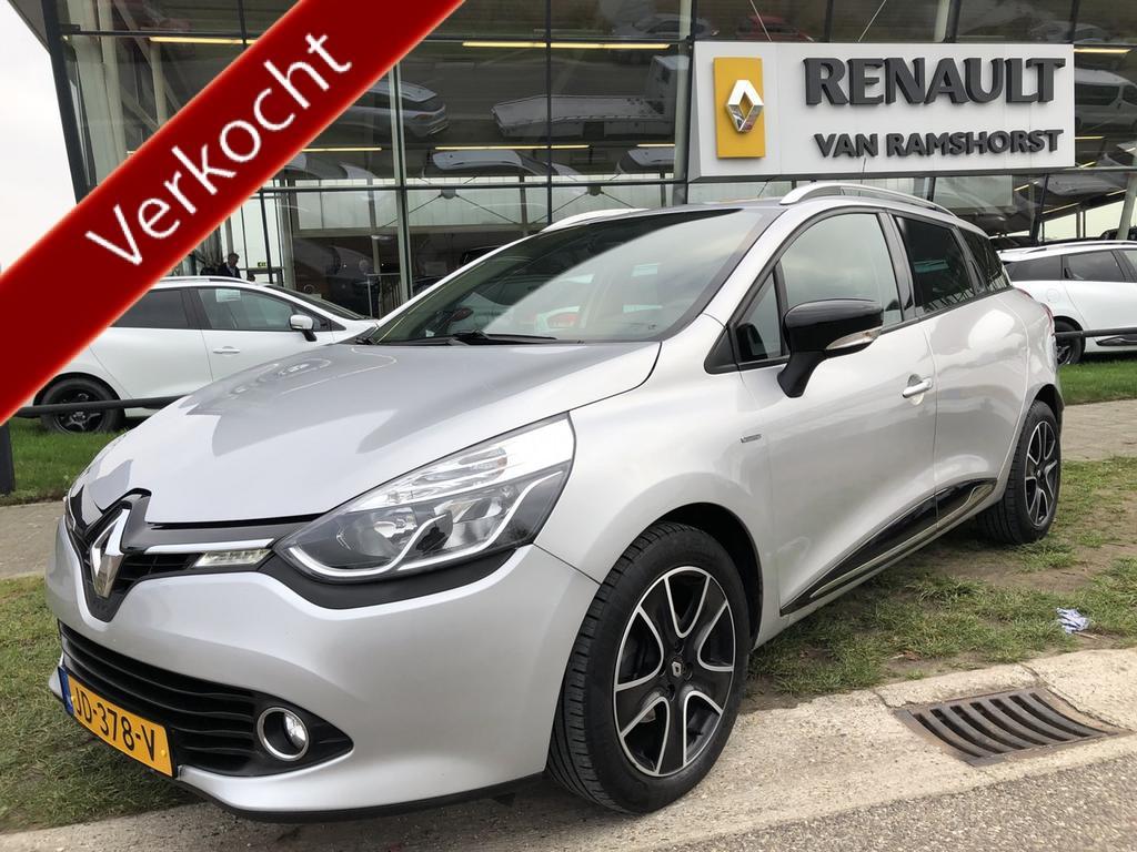 "Renault Clio Estate 1.5 dci 90 pk eco night&day 16""lmv medianav"