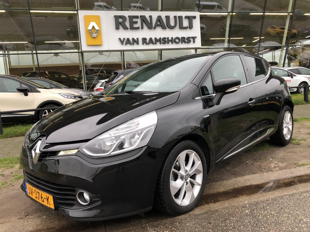 "Renault Clio 0.9 tce 90pk eco2 limited airco medianav pdc 16""lmv"