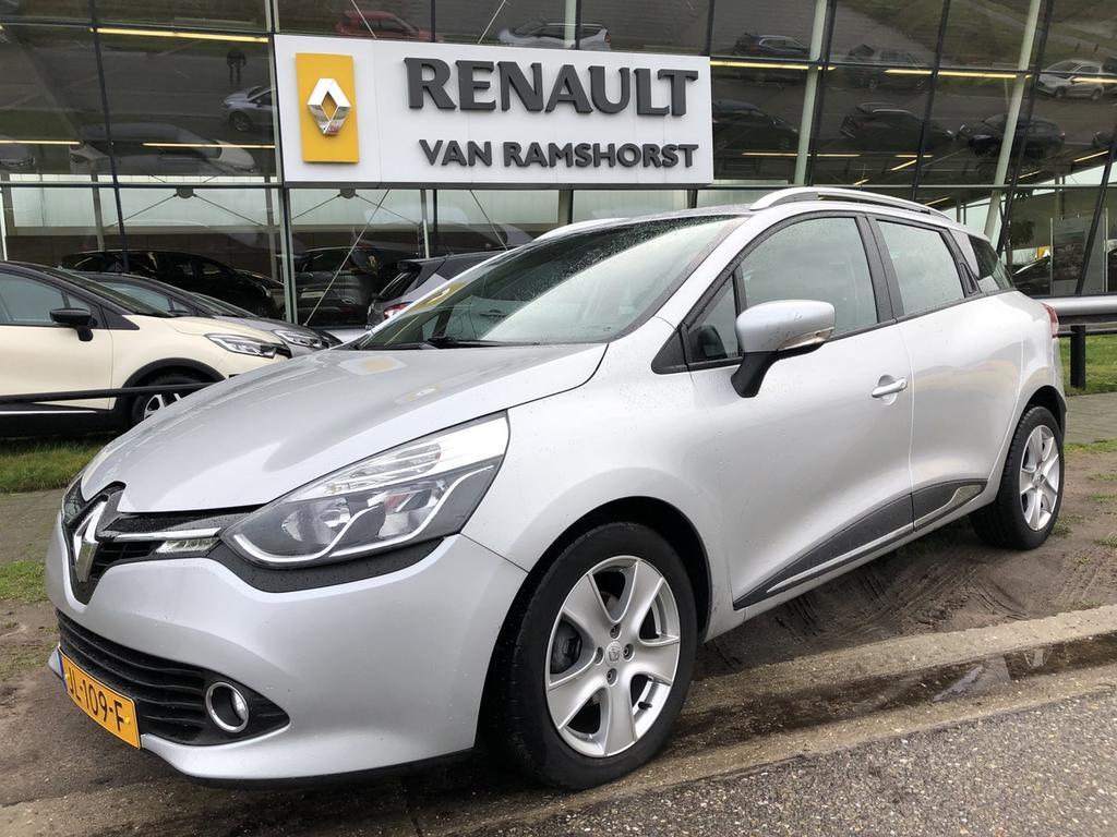 "Renault Clio Estate 1.5 dci 90pk eco expression airco medianav pdc 16""lmv"