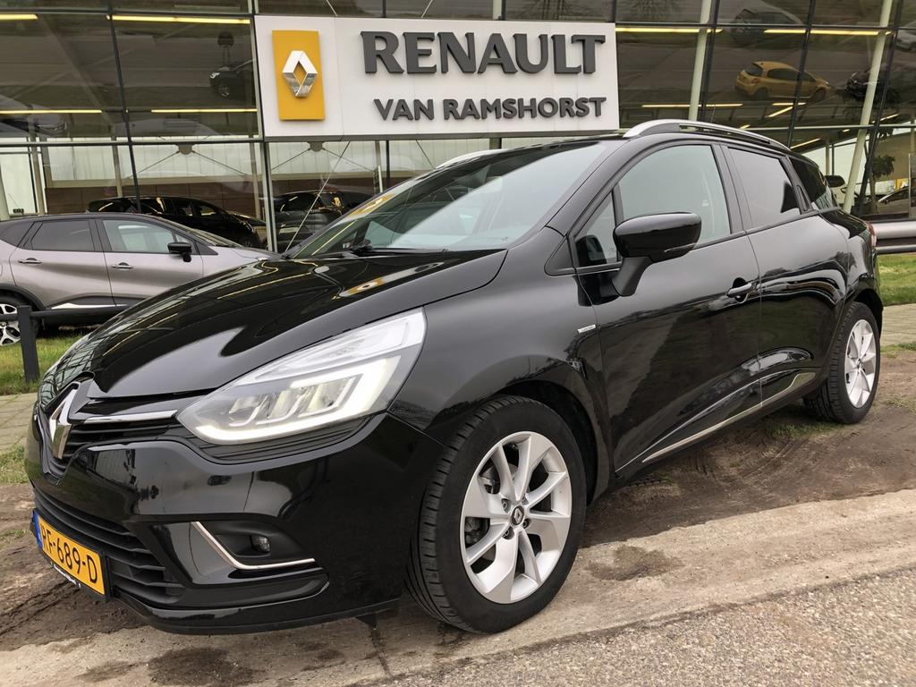 Renault Clio Estate 1.5 dci eco limited led climate pdc stoelverw voor