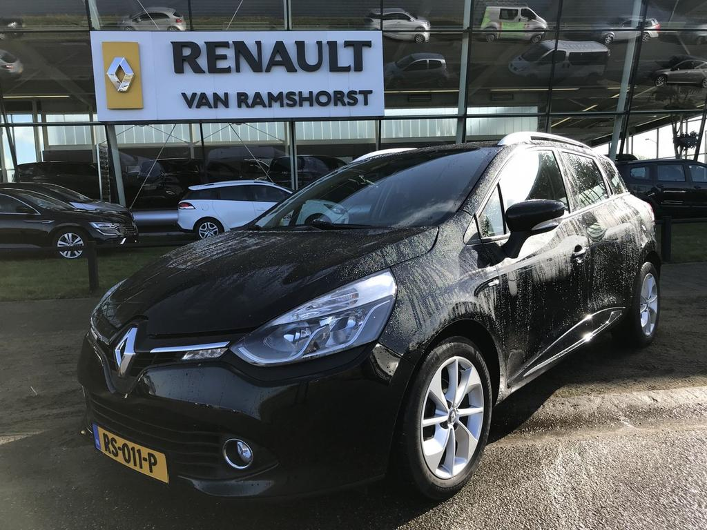 Renault Clio Estate 1.5 dci 90pk eco limited 16''lmv medianav bluetooth cruise