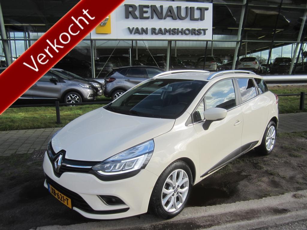 "Renault Clio Estate 0.9 tce 90pk intens 16""lmv climat medianav pdc 1+a+c led verl keyless"