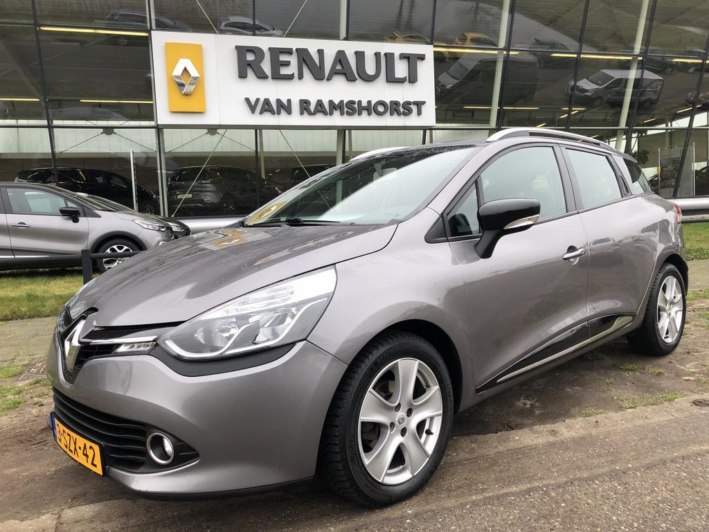"Renault Clio Estate 1.5 dci 90pk eco expression airco medianav 16""lmv armst trh"