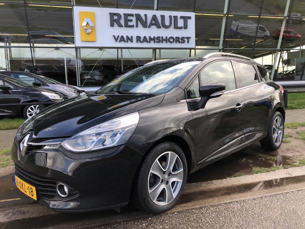 "Renault Clio Estate 1.5 dci 90pk eco night&day lmv 16"" medianav pdc"
