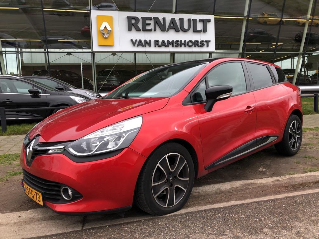 """Renault Clio Estate 1.5 dci 90pk eco dynamique climat pan dak 16""""lmv airco r-link pdc + cam"""