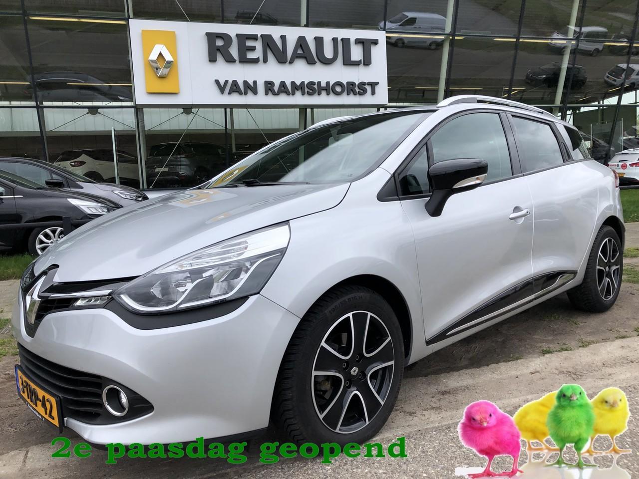 "Renault Clio Estate 1.5 dci 90pk eco dynamique r-link keyless airco 16""lmv 2e paasdag open 10.00 - 17.00 uur"