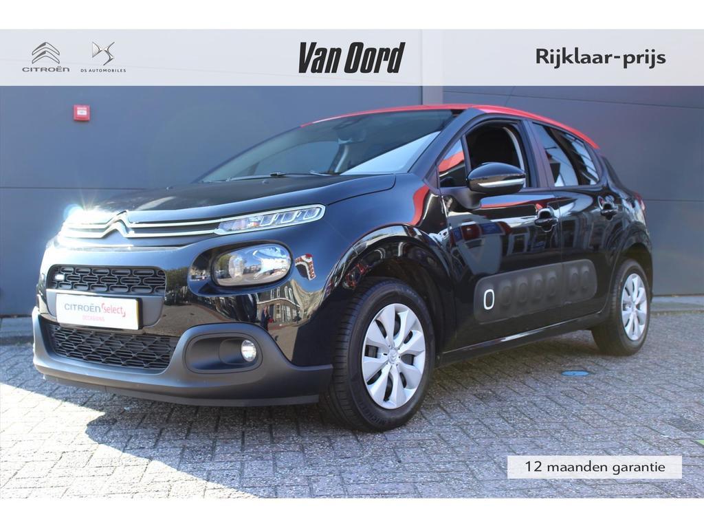 Citroën C3 1.2 puretech 82pk feel pack relax/navigatie