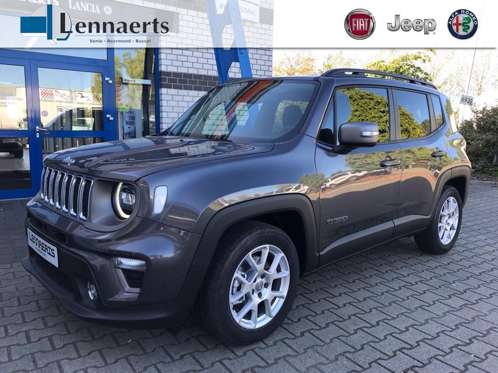 Jeep Renegade 1.3 turbo automaat limited *5 jaar fabrieksgarantie*