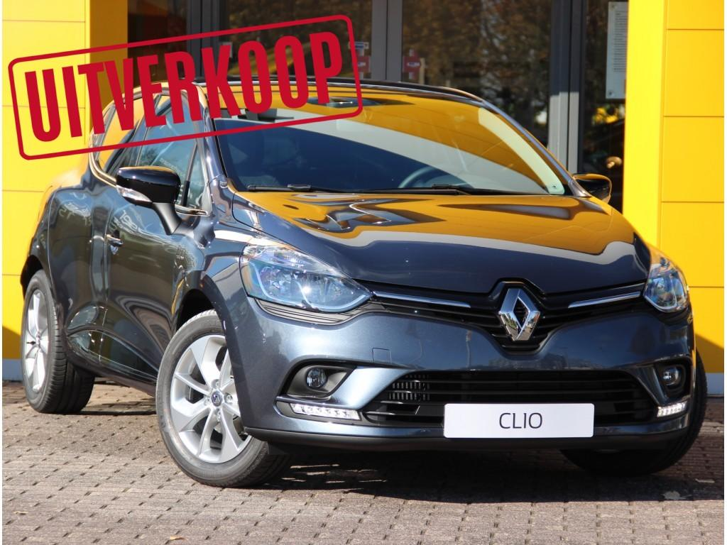 Renault Clio Tce 90pk limited normaal rijklaar 19.085,- nu rijklaar 16.885,-