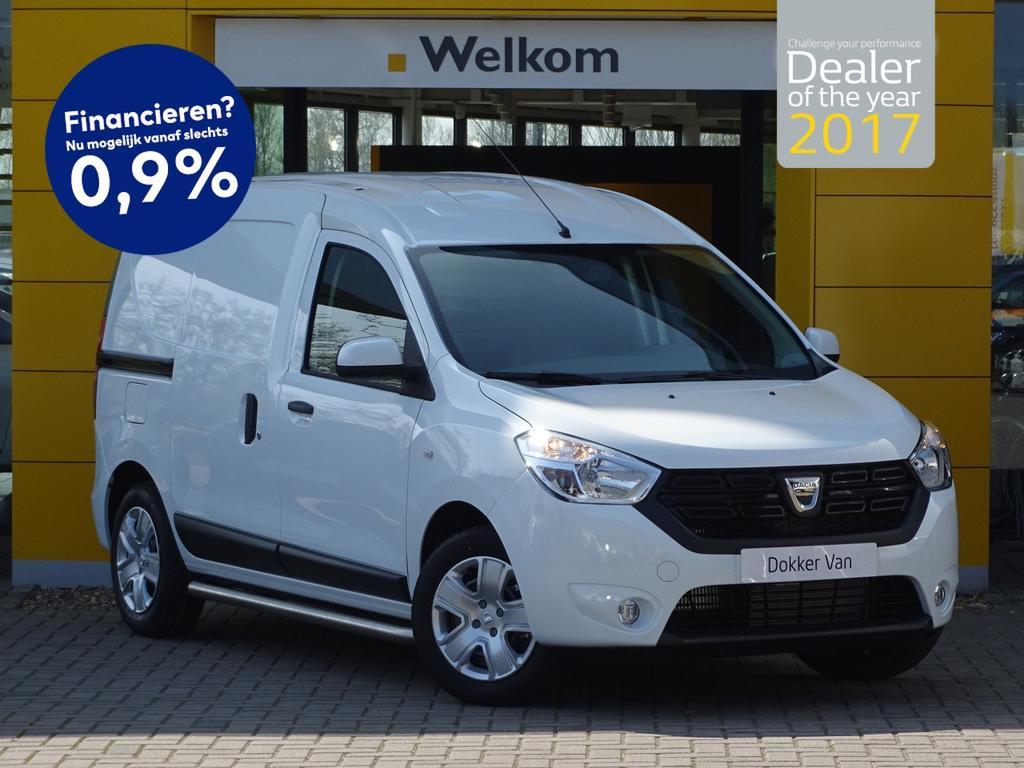 Dacia Dokker van 1.5 dci 90pk solid nieuw voorraad