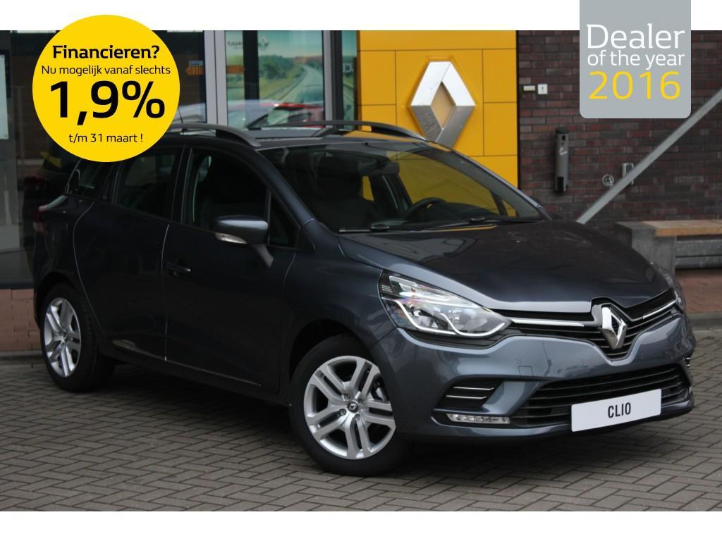 Renault Clio Estate 0.9 tce zen normaal rijklaar voor €20.180, nu rijklaar € 17.900,- nu speciaal voorraad voordeel/direct rijden