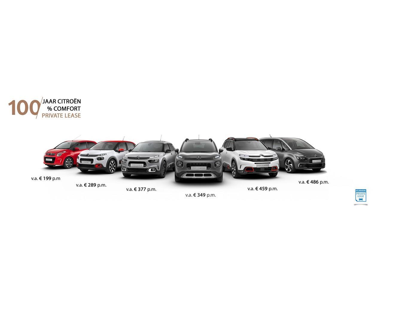 Citroën C1 Private lease v.a. € 199 p/mnd