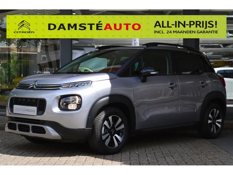 Citroën C3 aircross 130pk automaat shine navigatie keyless entry apple carplay