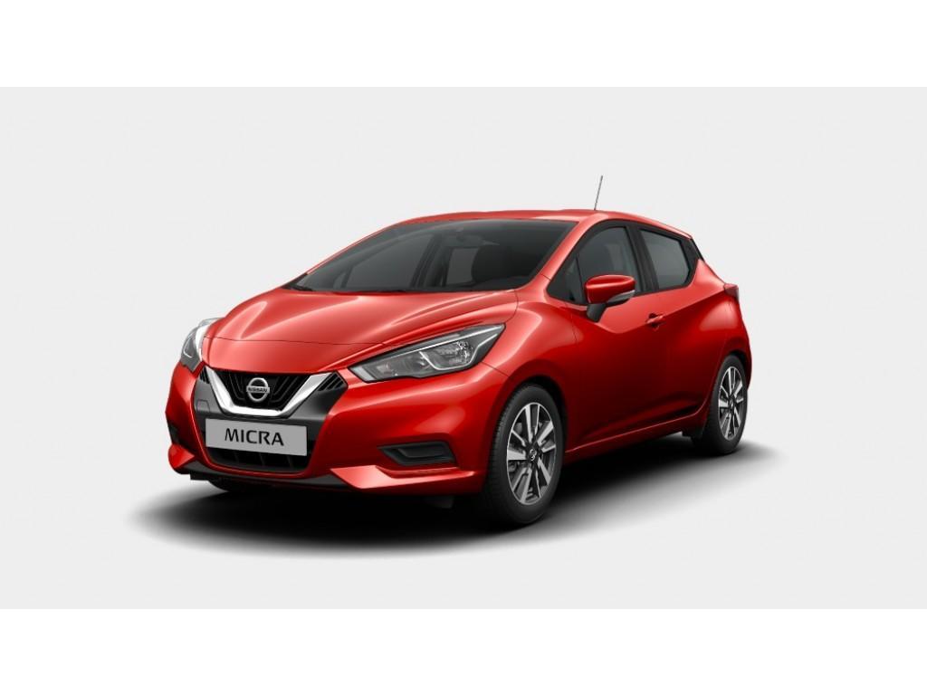 Nissan Micra New acenta / navigatie €235,- per maand 10.000 km 48 maanden