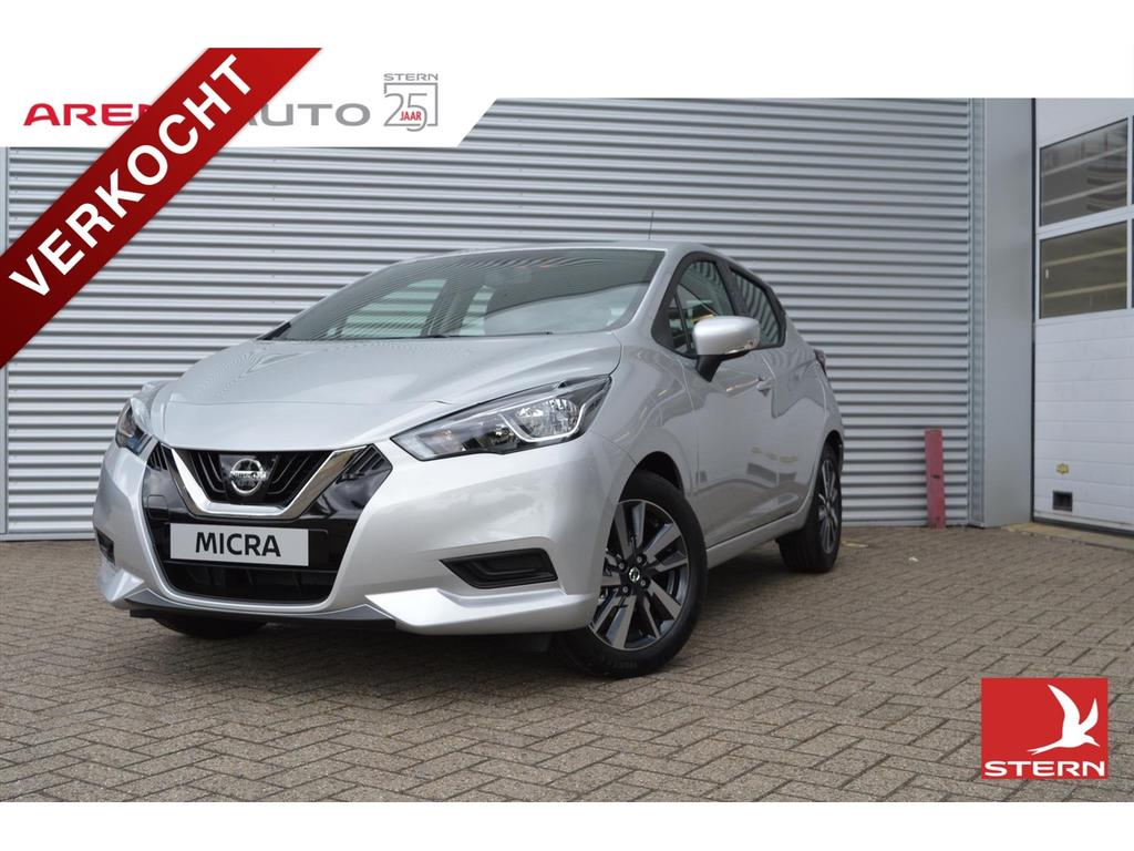 Nissan Micra New 90pk acenta airco navigatie private lease v.a.€279,=