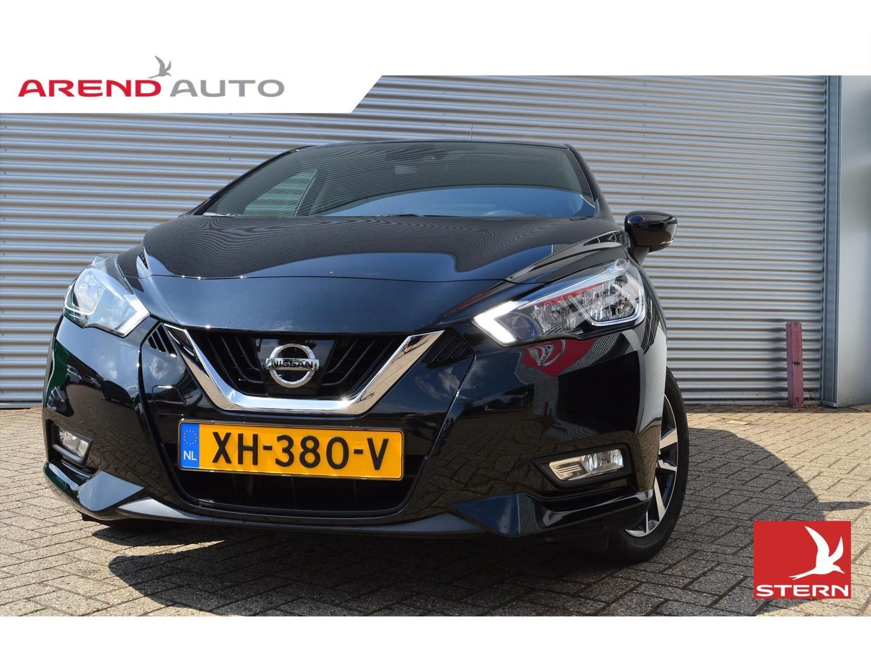 Nissan Micra 90pk n-way airco navigatie lichtmetalen velgen