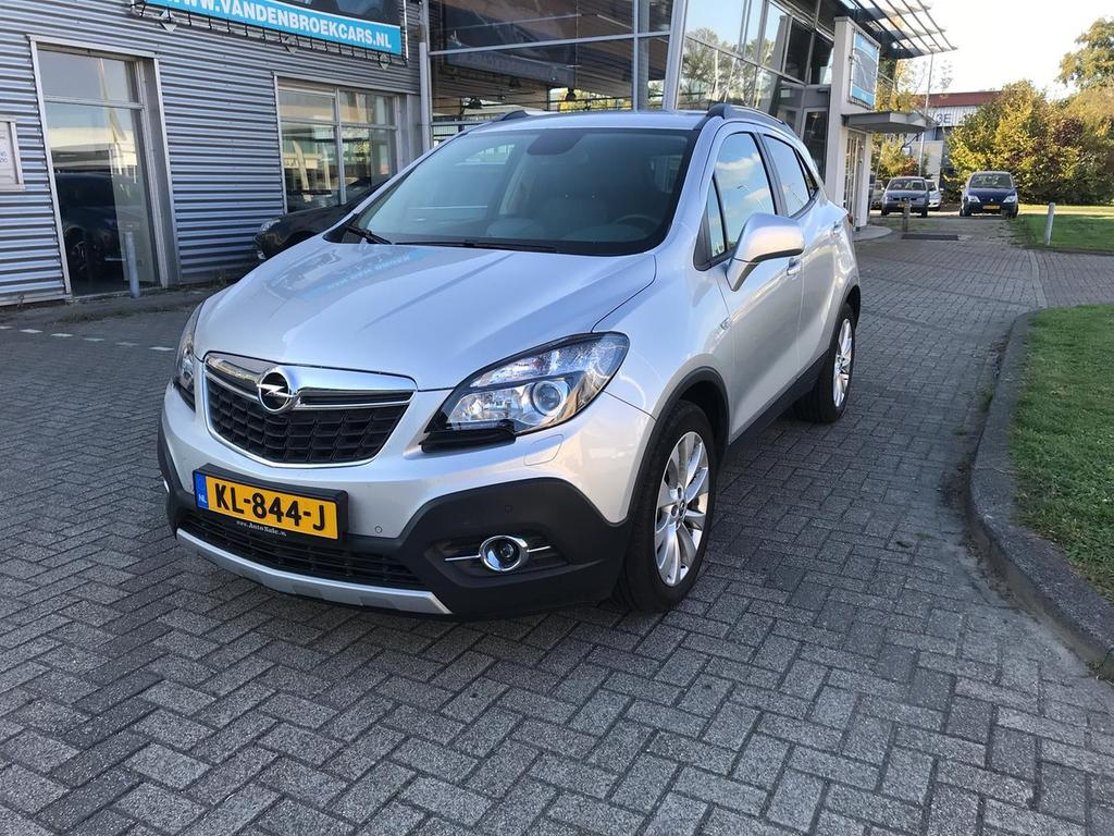 Opel Mokka 1.6 cdti edition navi--sensoren--multi stuur--onderhoud historie--