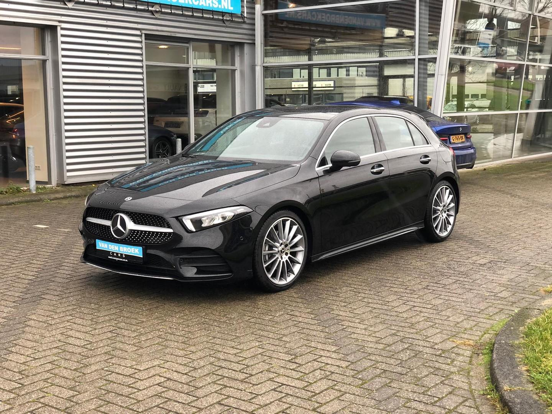 Mercedes-benz A-klasse 200 amg / ambient / pano / 360 camera / elc stoelen / burmeister / ect ect