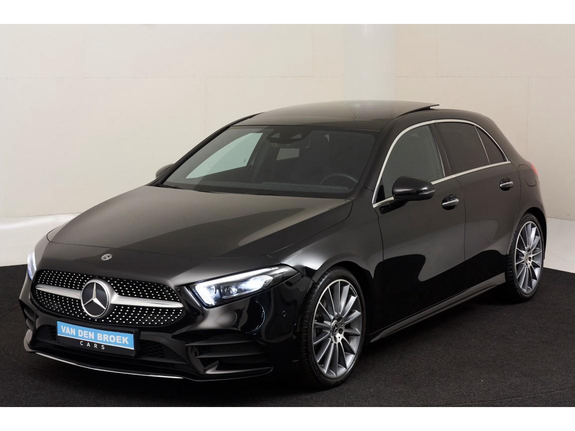 "Mercedes-benz A-klasse 200 amg / pano / ambient / 19"" / elc stoelen / ect ect"