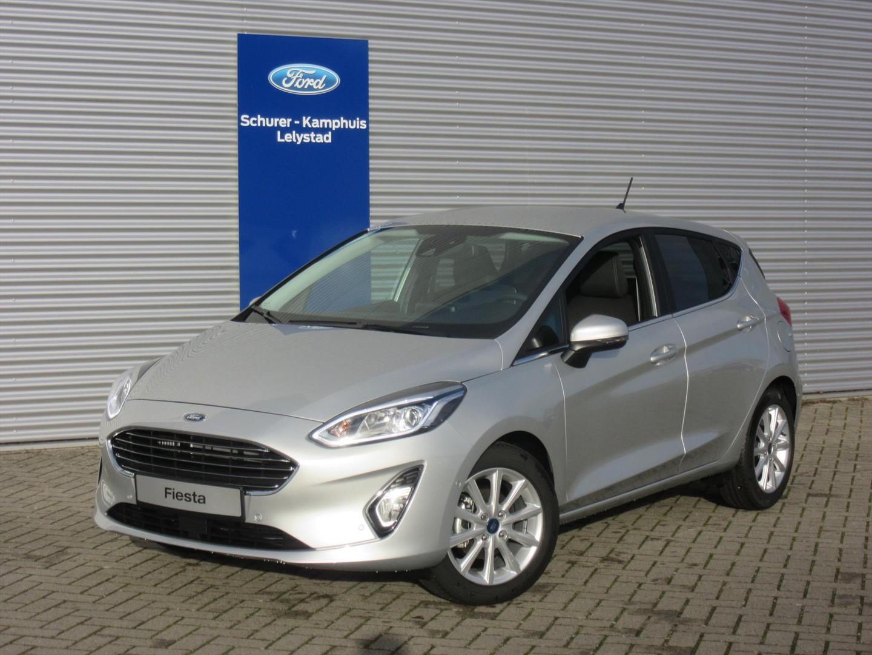 Ford Fiesta 1.0 ecoboost (100pk) titanium navi/dab+ 5-drs
