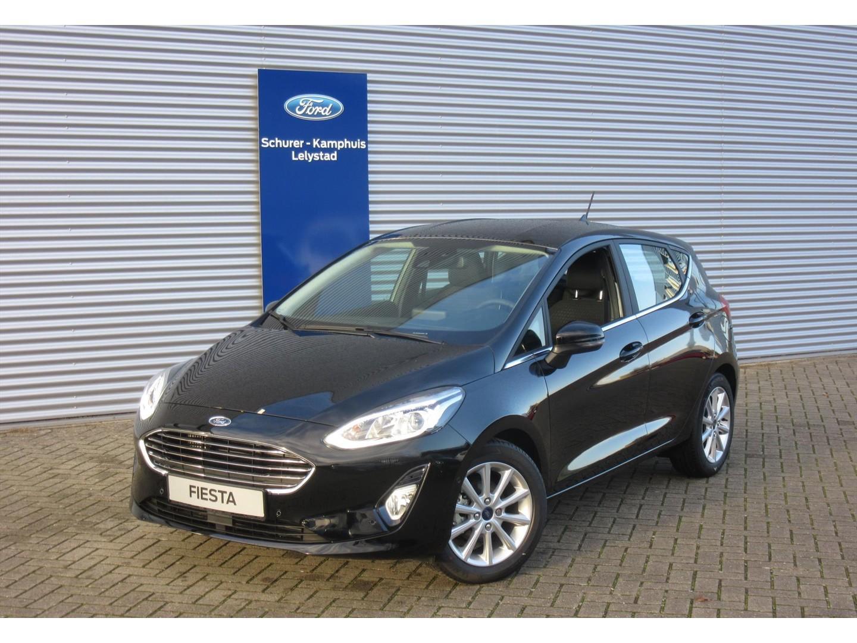Ford Fiesta 1.0 ecoboost (100pk) titanium 5d €4.000 korting!