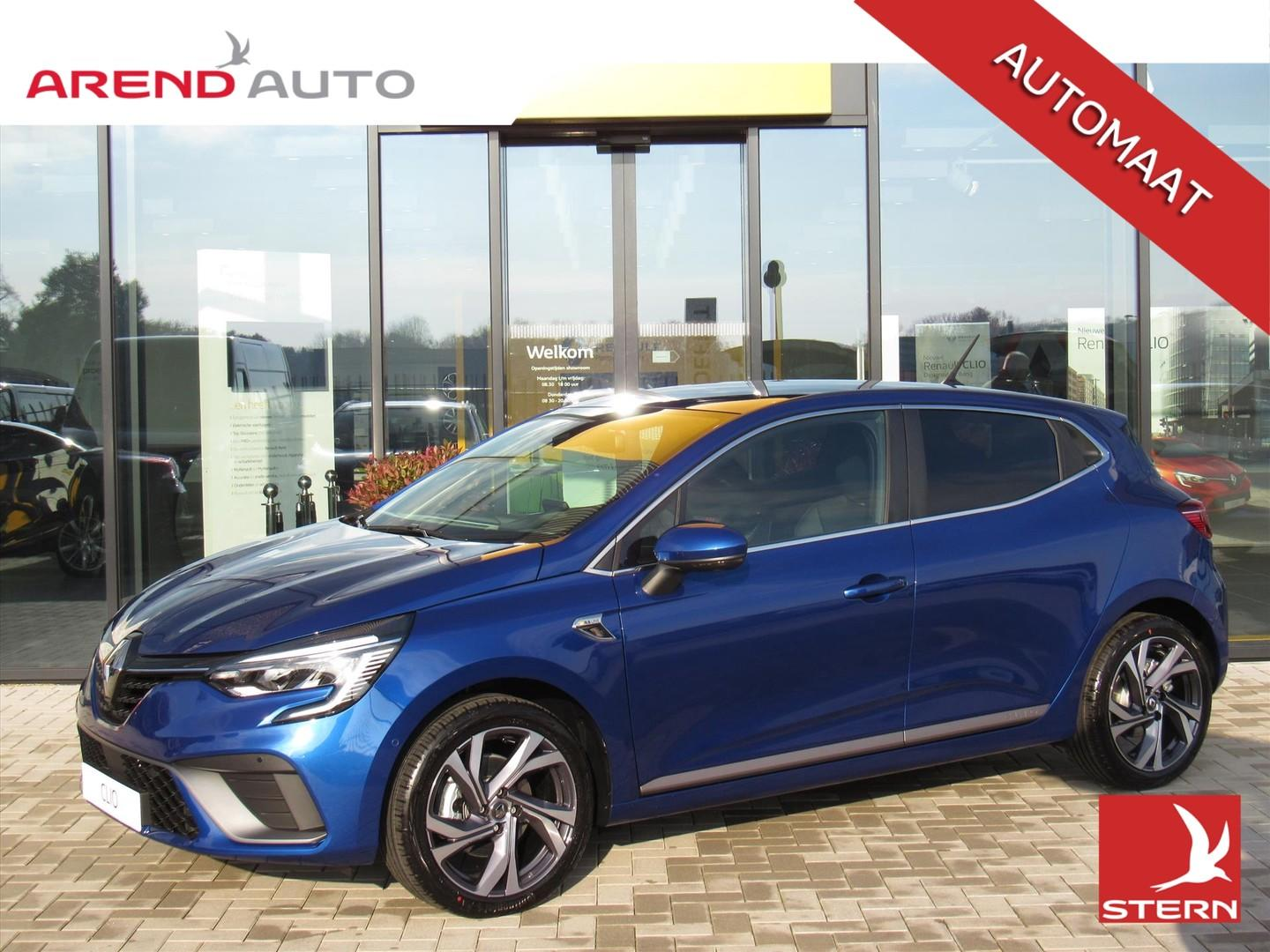 Renault Clio Tce 130 edc gpf r.s. line prive lease €514 pm obv 48 maanden 10.000 km per jaar