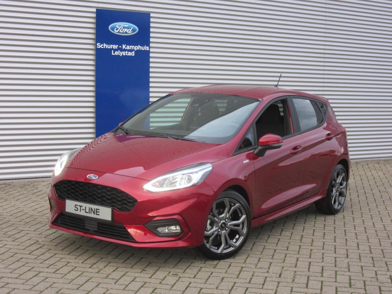 Ford Fiesta 1.0 turbo (100pk) st-line 5drs €4.000 korting!