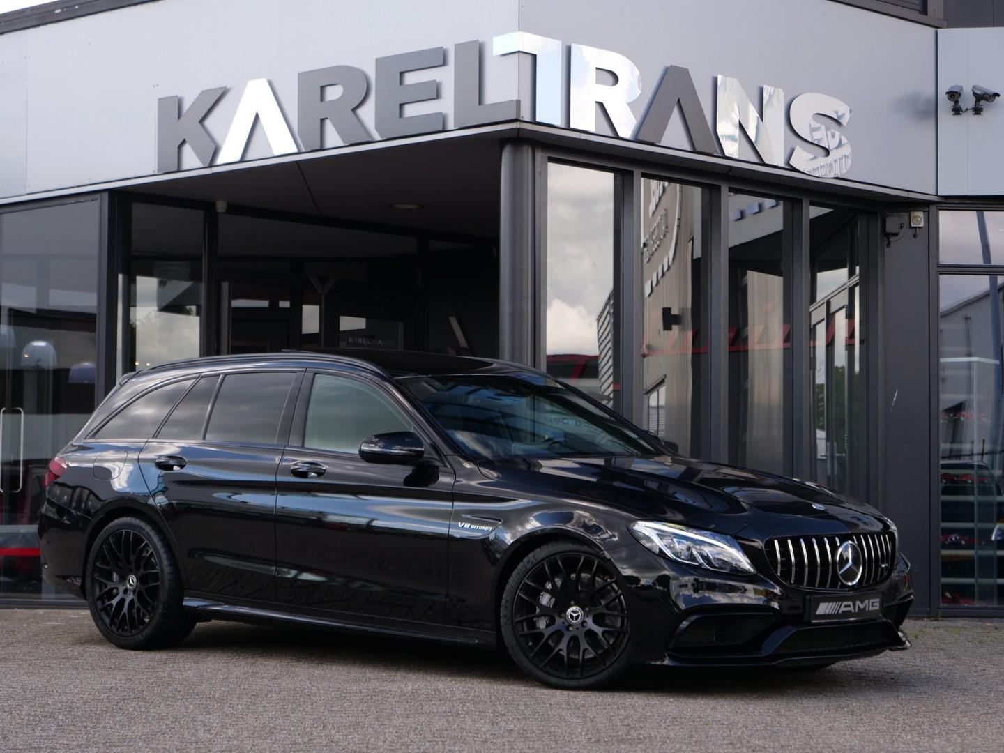 Mercedes-benz C-klasse Estate c63 t amg