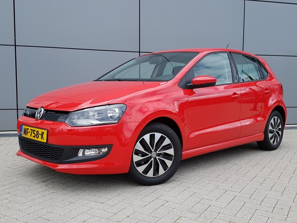 Volkswagen Polo 1.0 tsi 95pk bluemotion edition € 3.500,- voordeel app connect