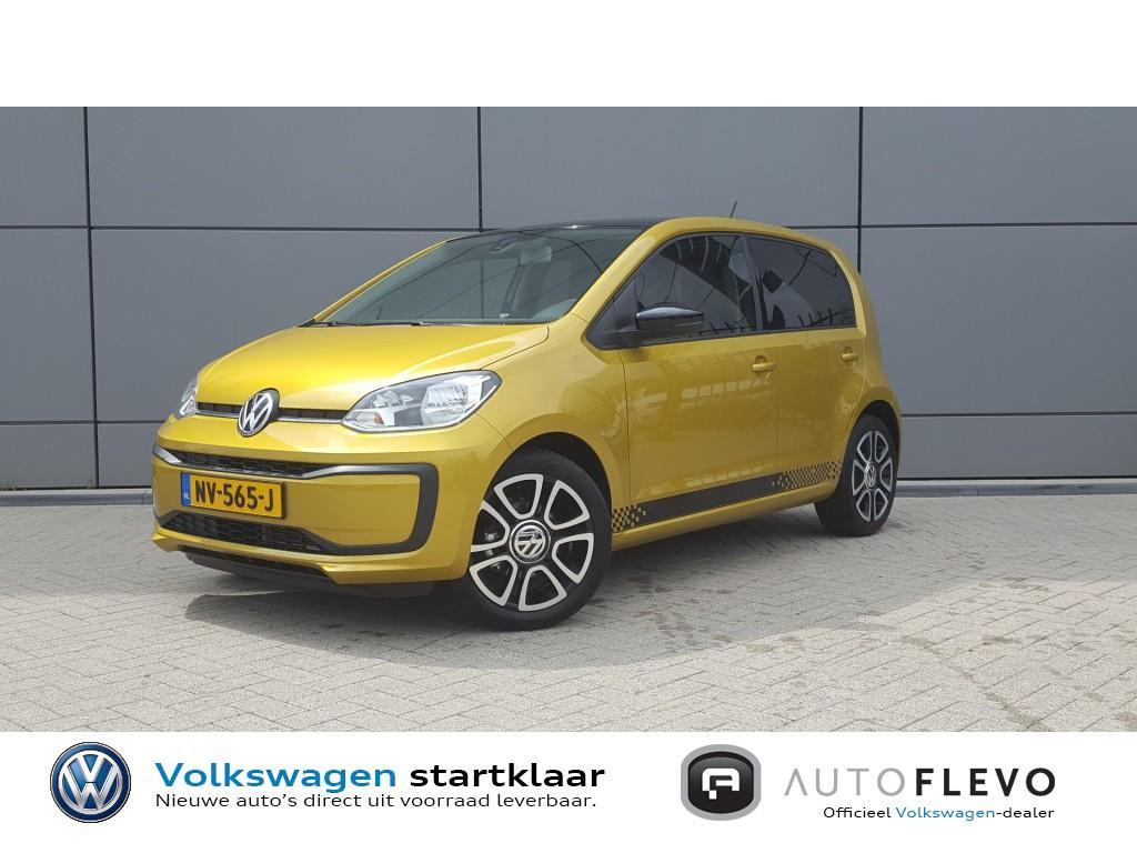 Volkswagen Up! 1.0 bmt *flevo edition* *€ 1.350,- voordeel* dubbele-uitlaat / lmv / airco / dab+