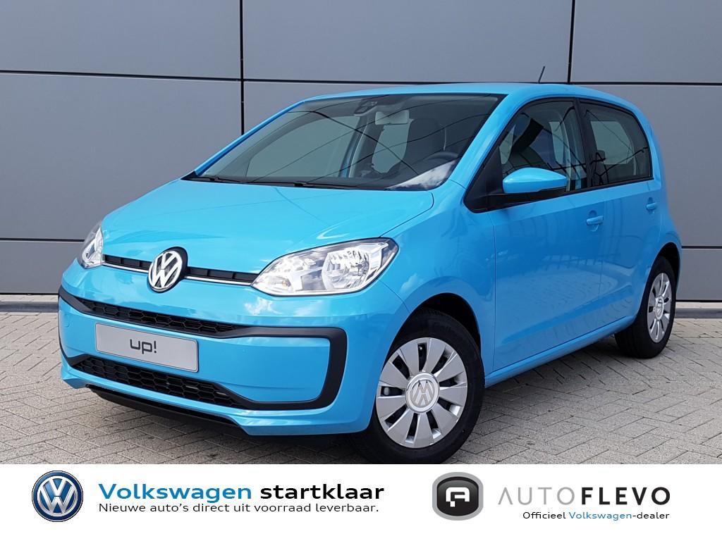 Volkswagen Up! 1.0 bmt move up! direct uit voorraad leverbaar! executive-en comfortpakket!