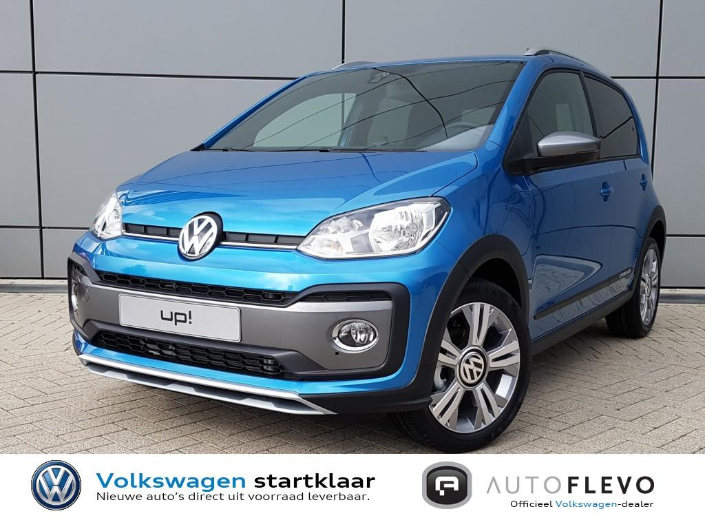 Volkswagen Up! 1.0 tsi bmt cross up! / nieuw uit voorraad / climate / stoelverwarming / pdc / bluetooth