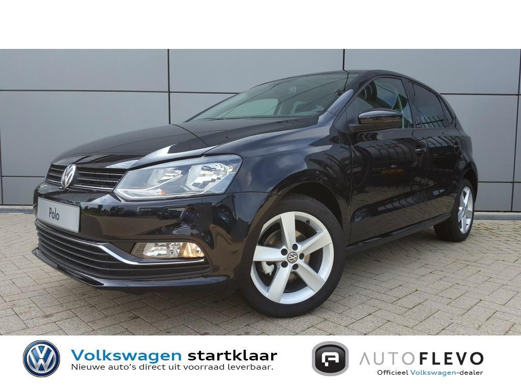 Volkswagen Polo 1.2 tsi highline korting: €1.800,- dsg-automaat / navi / park.sens v+a / schuif-panodak / park.camera
