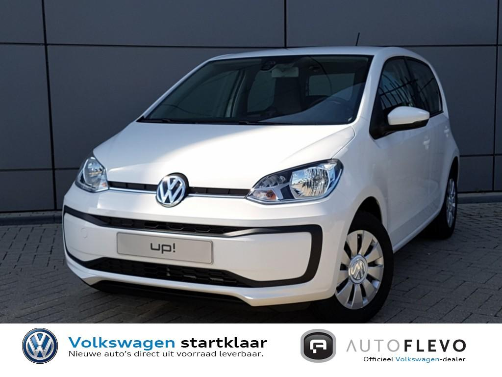 Volkswagen Up! 1.0 ecofuel move up! / nieuw uit voorraad leverbaar! / executive / airco / maps + more docking station / dab+