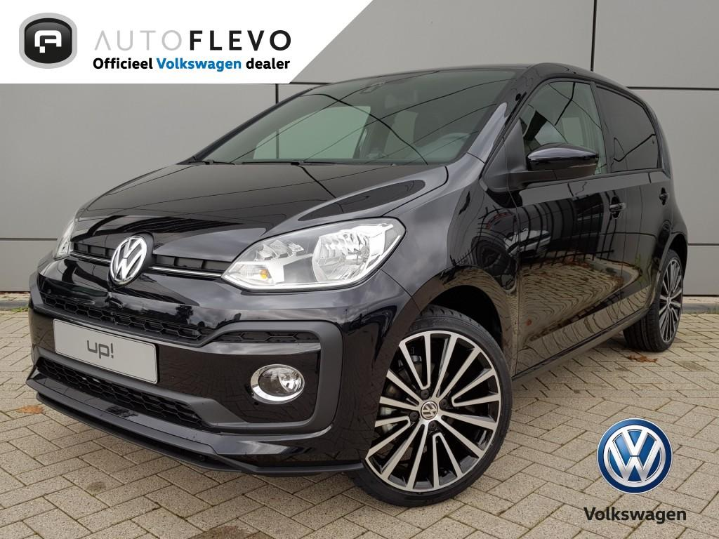 Volkswagen Up! 1.0 90 pk tsi bmt high up! schuif- kanteldak / stoelverwarming / dab+ / achteruitrijcamera