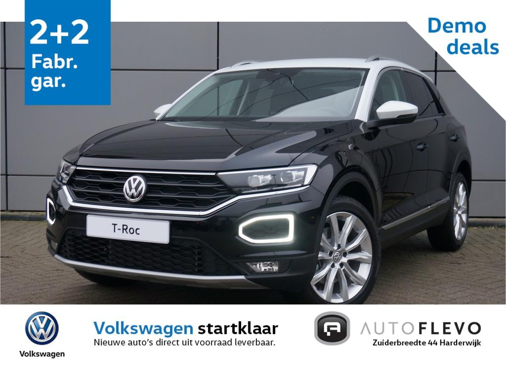 Volkswagen T-roc 1.0 tsi style / active info / navi / adap. cruise / pdc / clima / led